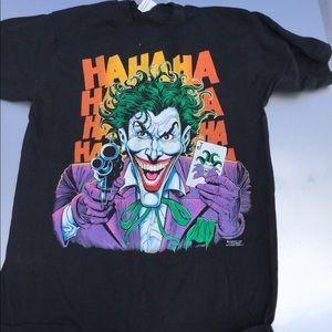 Other - Vintage 1989 DC Comics JOKER t shirt